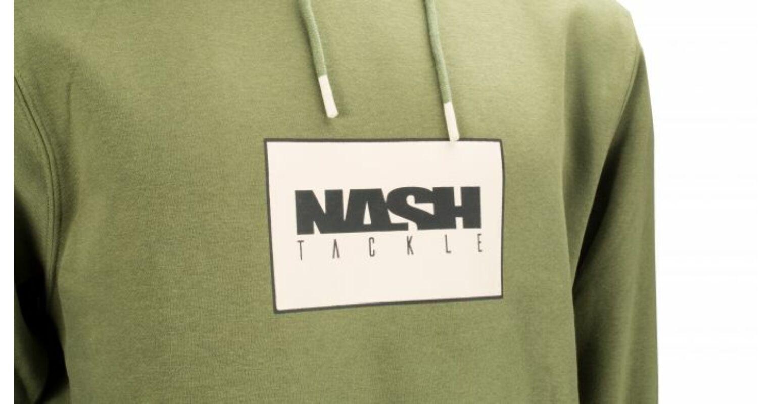 Nash Emboss Hoody kapucnis melegítő felső S