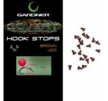 Gardner Covert Hook Stops horogstopper iszap