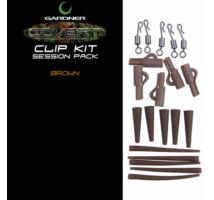Gardner Covert Clip Kit Session Pack komplett szerelék iszap