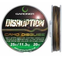 Gardner Disruption előkezsinór barna/fekete 15lb