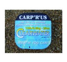 Carp R Us Clearwater fluorocarbon előkezsinór 25lb , 20 m