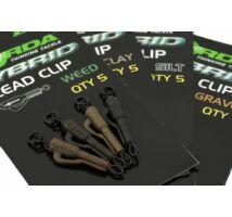 Korda Hybrid Lead Clip ólomklipsz Silt