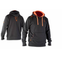 Fox Black & Orange Hoodie kapucnis felső