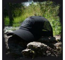 RidgeMonkey Trucker Cap Black baseball sapka