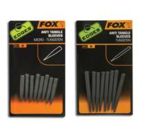 Fox Tungsten Anti Tangle Sleeves ólmozott gubancgátló hüvely