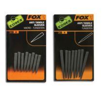 Fox Tungsten Anti Tangle Sleeves ólmozott gubancgátló hüvely