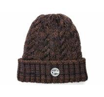Fox Chunk Camo Heavy Knit Beanie kötött téli sapka