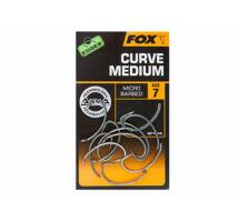 Fox Edges Armapoint Curve Medium Hook pontyozó horog