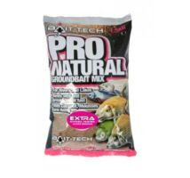 Bait Tech Pro Natural Extra Groundbait etetőanyag 1,5 kg