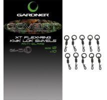 Gardner Covert XT Flexi-Ring Kwik Lok Swivels gyorskapcsos karikás forgó