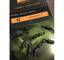 PB Products Spiral Speed Swivel gyorskapcsos forgó