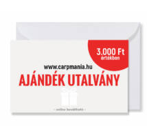 Carpmania ajándék utalvány 3.000.- Ft