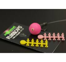 Korda Floss Caps csalistopper white/red