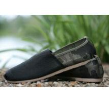 Korda Kore Slip Ons Kamo Black Footwear cipő