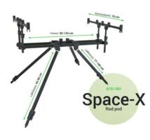 Carp Academy Space-X Rod Pod