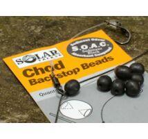 Solar Chod Rig Backstop Beads gumiütköző fekete
