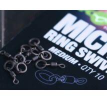 Korda Micro Ring Swivel karikás forgó Medium