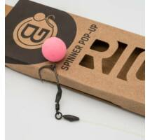 BG Spinner Pop-Up Rig Bujáki Géza által készített Spinner előke pop-up csalikhoz