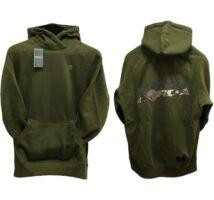 Korda Kore TK Hoody Dark Olive kapucnis pulóver