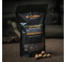 S-Carp Top Force bojli 1 kg 20mm