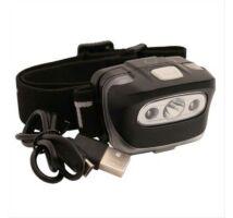 ATT Pulsar USB Head Torch tölthető fejlámpa