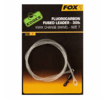 Fox Edges Fluorocarbon Fused Leader 30lb 75cm