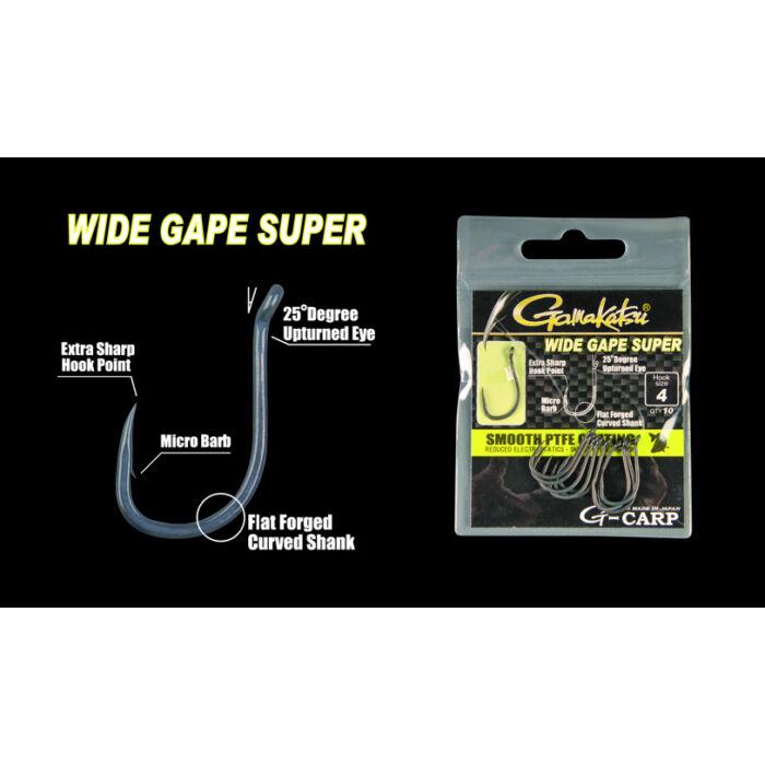 Gamakatsu Wide Gape Super pontyozó horog