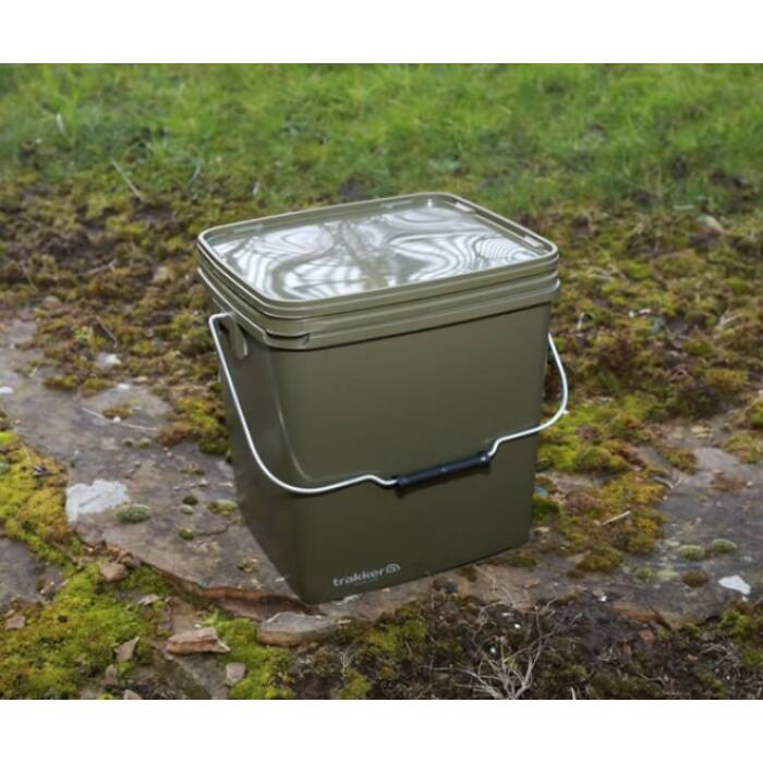 Trakker 13 Litre Olive Square Container tároló edény