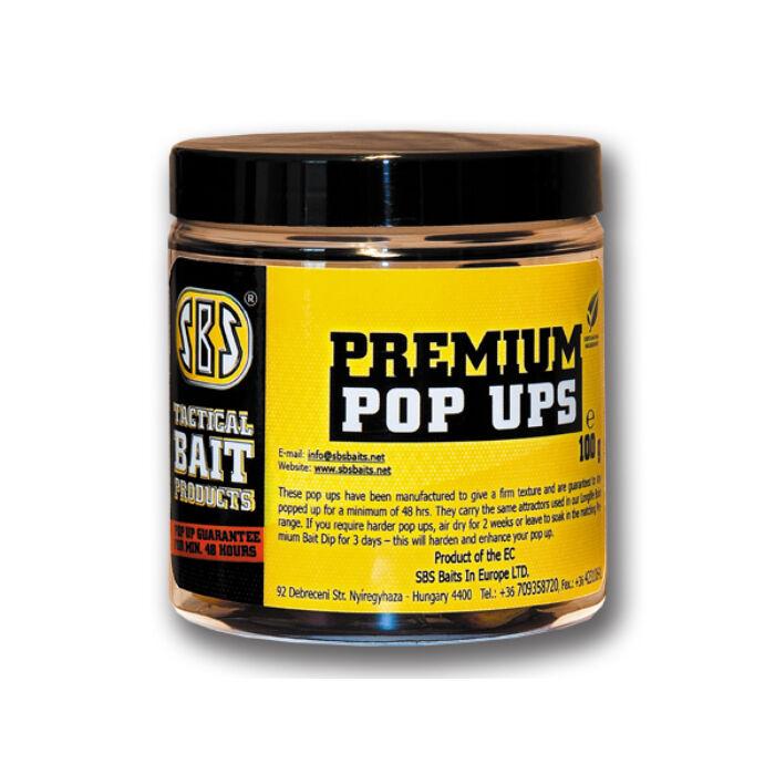 SBS Premium Pop Ups lebegő bojli