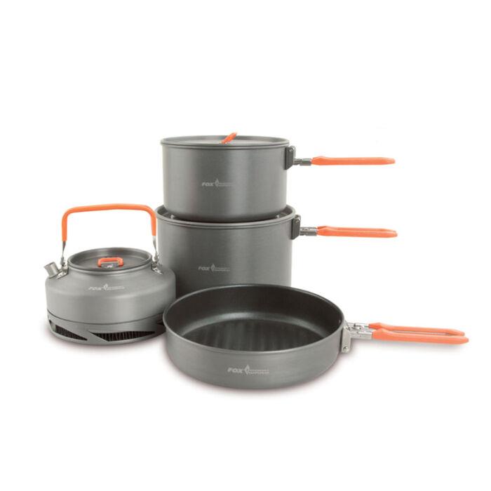 Fox Large Cookware Set négy részes edénykészlet