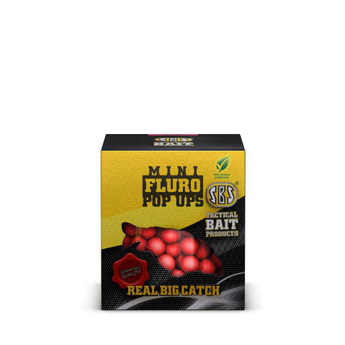 SBS Mini Fluro Pop Ups lebegő bojli 8mm