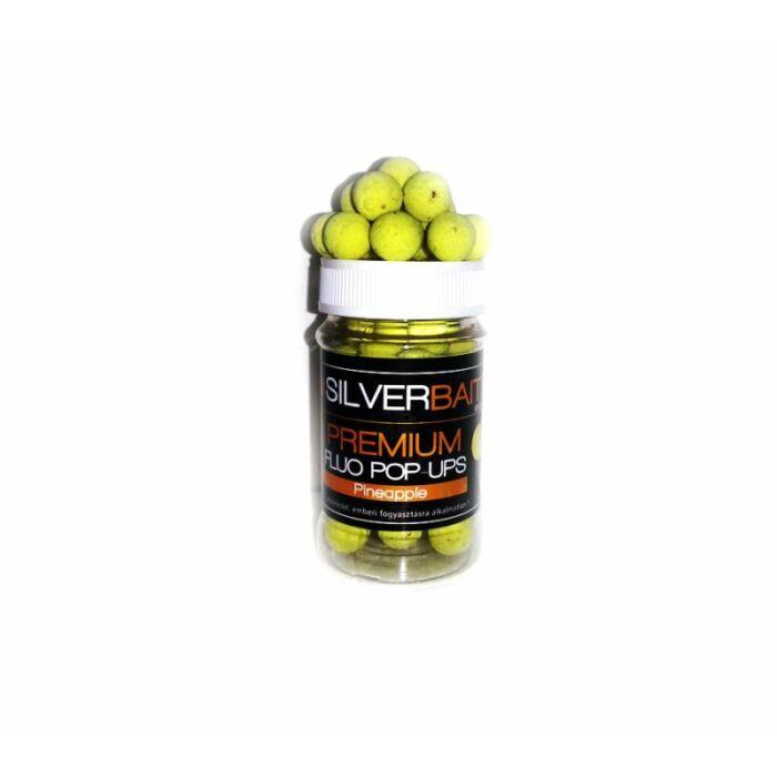 Silverbaits Premium Fluo Pop Ups fluo lebegő bojli