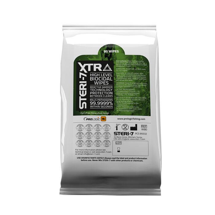 Prologic Steri 7 XTRA fertőtlenítő kendő
