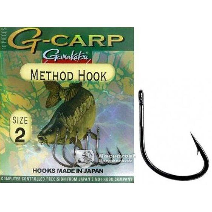 Gamakatsu G-Carp Method Hook pontyozó horog