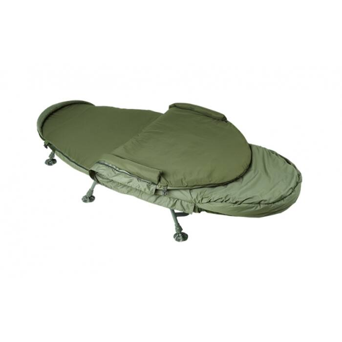 Trakker Levelite Oval Bed System ágy hálózsákkal