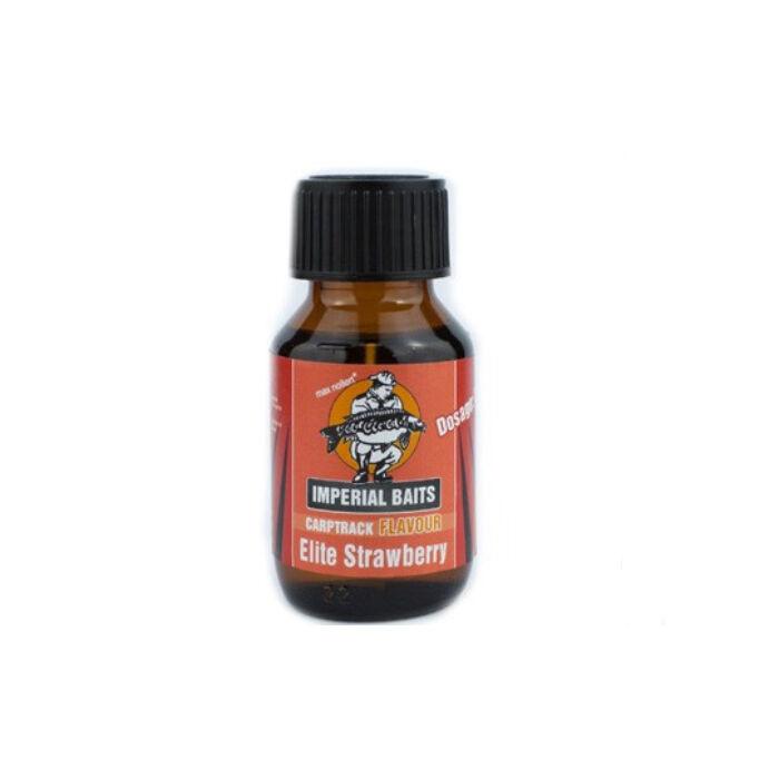 Imperial Baits Carptrack Elite-Strawberry kagyló-eper aroma 50ml