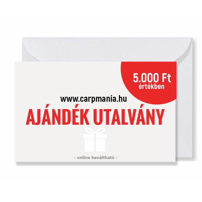 Carpmania ajándék utalvány 5.000.- Ft
