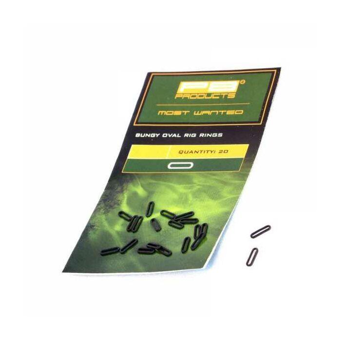 PB Products Bungy Rig Oval Rings ovális fémkarika
