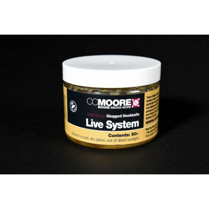 CC Moore Live System Glugged Hookbaits dippelt horogcsali