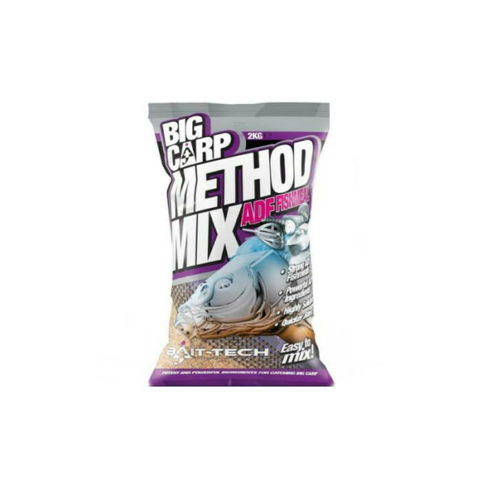Bait Tech Big Carp Method Mix ADF Fishmeal etetőanyag 2 kg