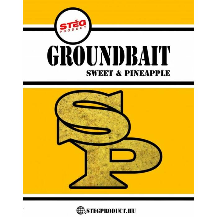 Stég Product Sweet Pineapple Groundbait édes ananász etetőanyag