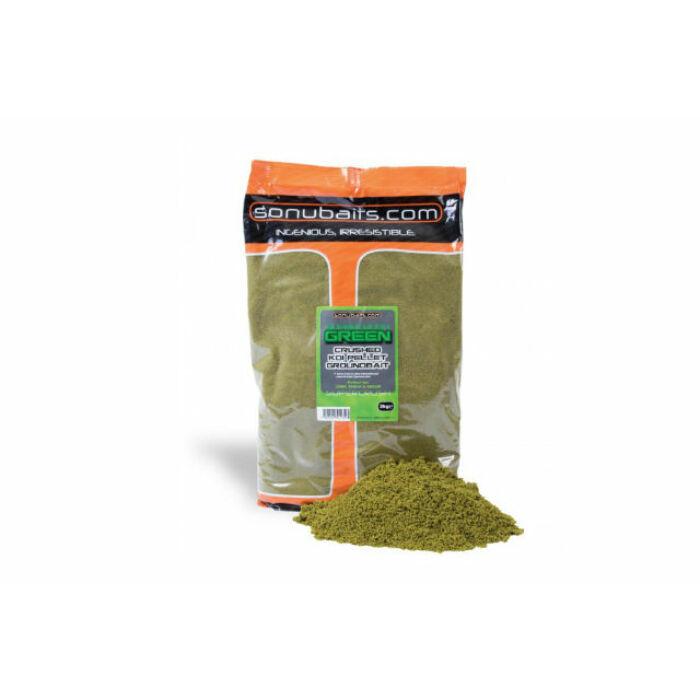 Sonubaits Supercrush Green etetőanyag 2kg