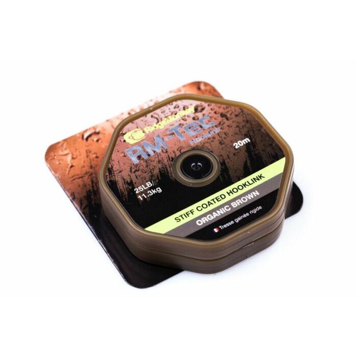 RidgeMonkey RM-Tec Stiff Coated Hooklink előkezsinór