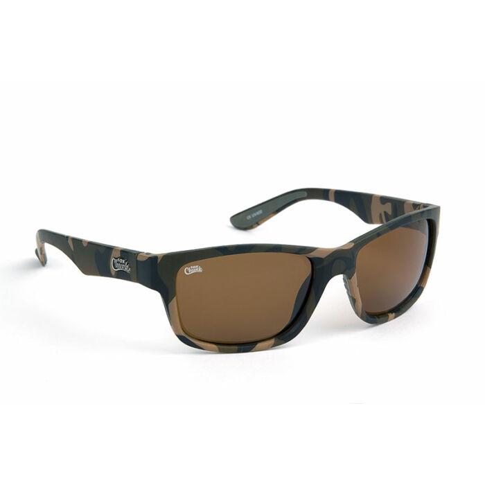 Fox Avius® Wraps Trans Khaki Frame/Brown Mirror Lens napszemüveg