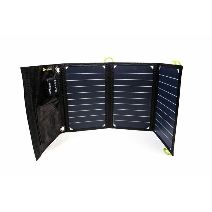 RidgeMonkey Vault USB Solar Panel 16W napelemes töltő