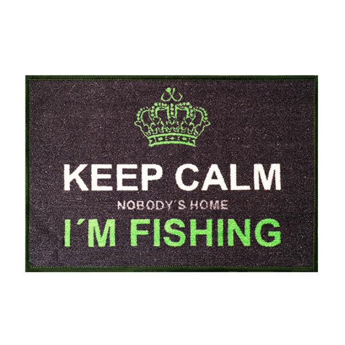 Delphin Keep Calm lábtörlő