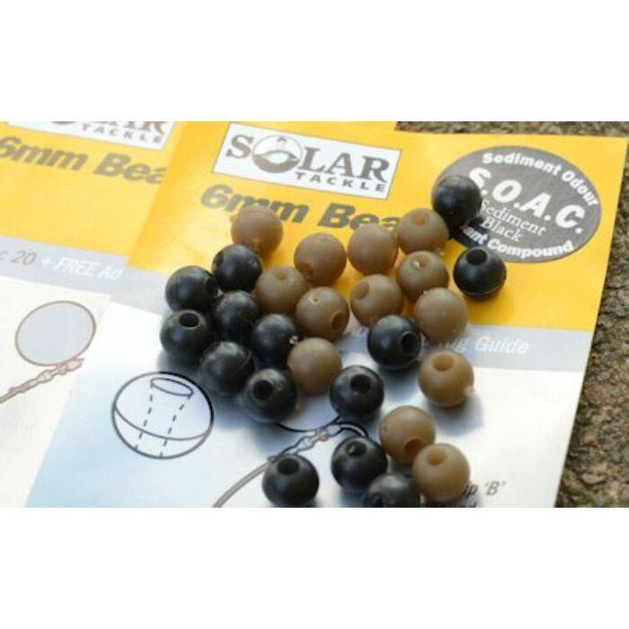 Solar 6mm Beads gumiütköző