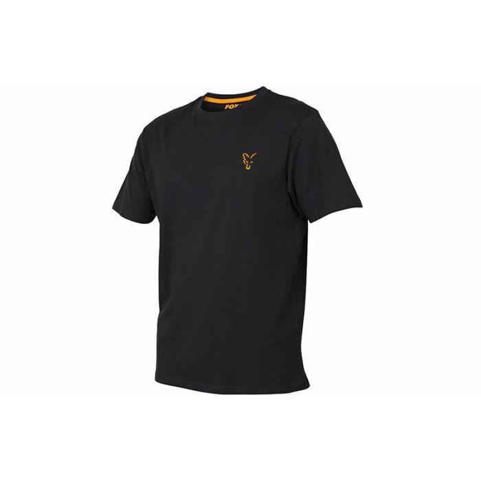 Fox Collection Black & Orange T-Shirt póló