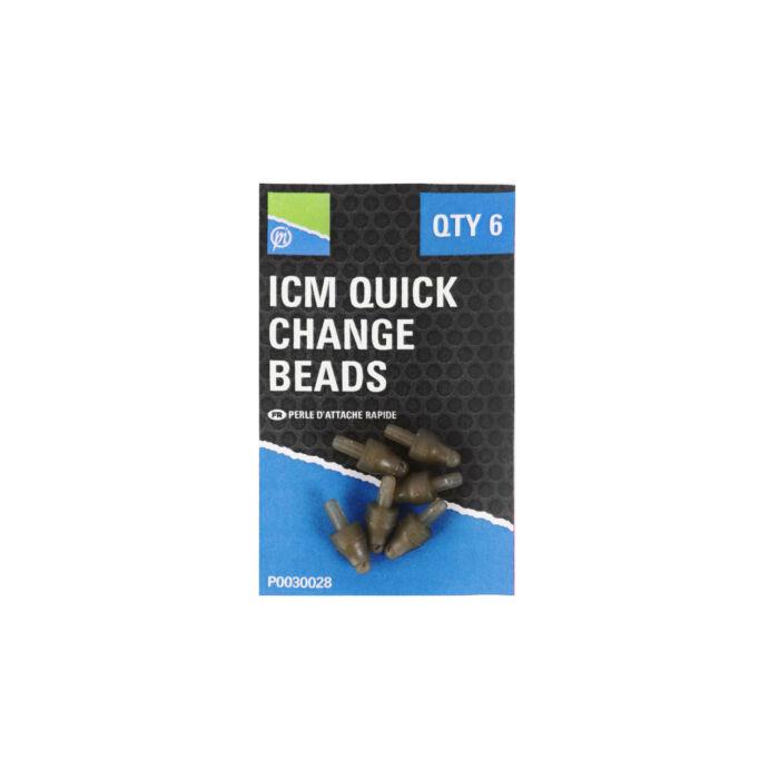 Preston ICM In-Line Quick Change Bead gyorscsatlakozó