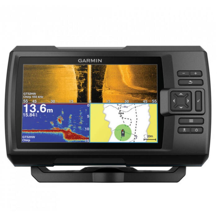 Garmin Striker Plus 9sv GPS halradar